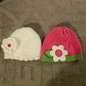 ❤ Gymboree Hat & Adorable Knited Hat 0-12M❤